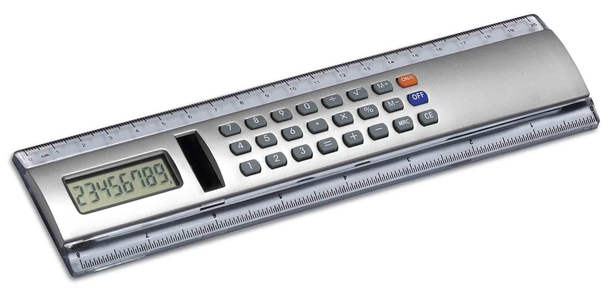 Калькулятор линейка