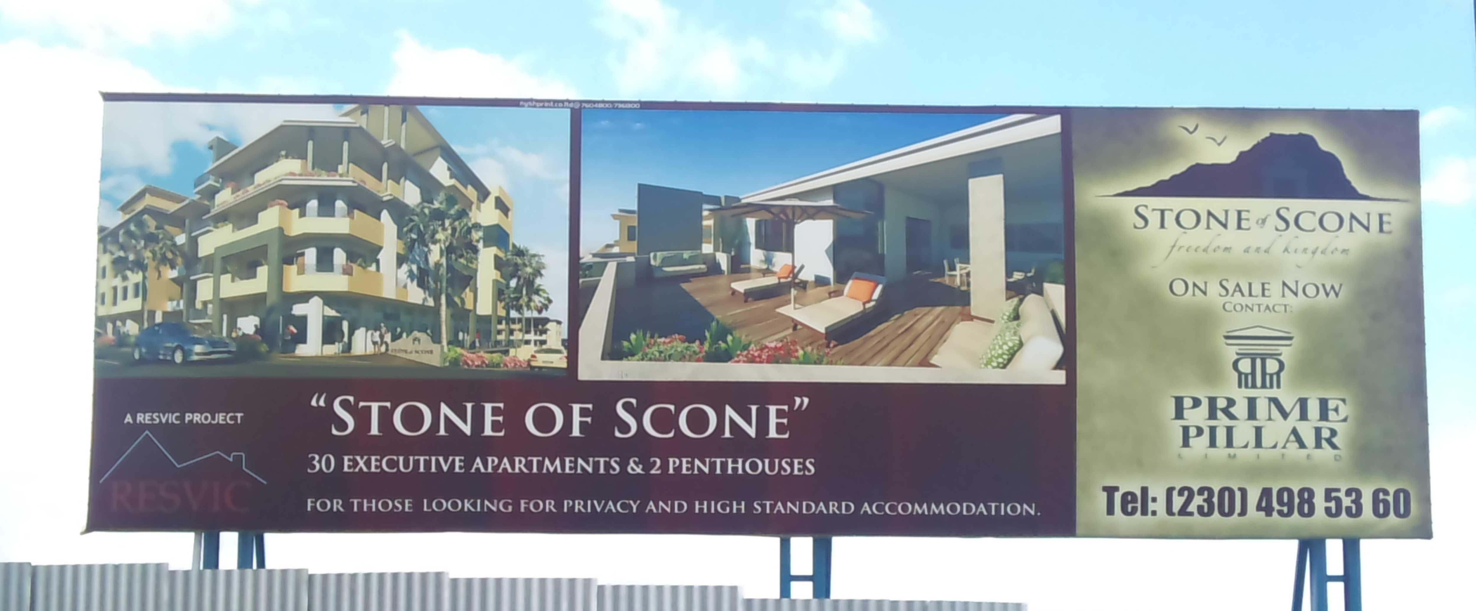 Billboard In Mauritius
